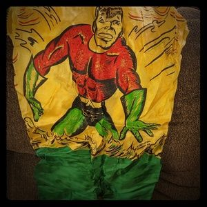 Rare 1967 Aquaman kids costume Halloween